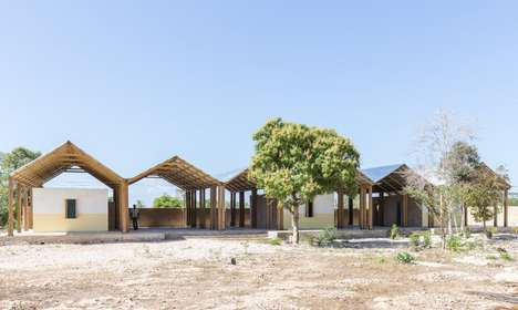 Earthquake-Resistant Orphanages - This Structure Provides Shelter for Orphaned Haitian Children