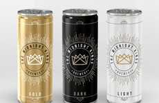 Victorious Beer Branding - Kings of Midnight Brewery Celebrates Millennials With Milestone Packaging