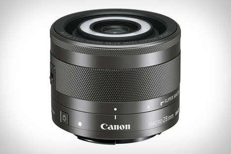 Self-Lit DSLR Lenses - The Cannon Macro Lens Features Automated Light and Stabilizing Settings