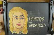 Fantasy Character Flapjacks - Food Artist Dancakes Creates Game of Thrones Characters Out of Batter