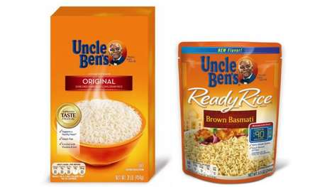 Forthright Food Packaging - Uncle Ben's' Innovative Food Packaging Places Consumer Health First