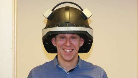 Concussion-Detecting Helmets - This High-Tech Helmet Conducts EEG Tests to Detect Brain Injury