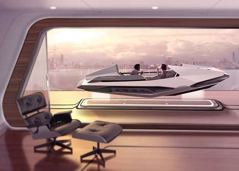 Hybrid Transit Abodes - Yuhan Zhang's 2050 Volvo Concept Homes are Also Used as Transportation