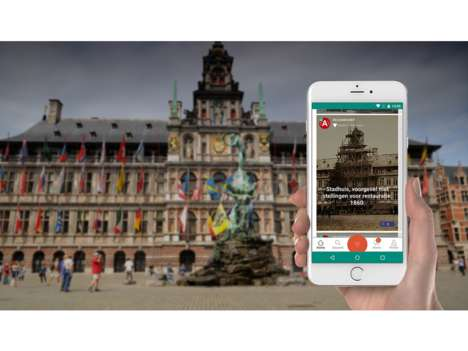 Geotagged Storytelling Apps - The Krumb App Lets You Leave Mobile Messages When Visiting a Place