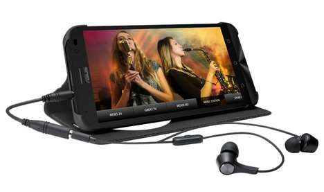 TV Content-Streaming Smartphones - The Asus Zenfone Go TV Smartphone Device Features a TV Tuner
