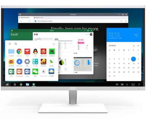 Mobile OS Desktops