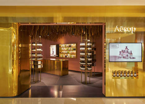 Forest-Inspired Boutiques - Skin Care Store Aesop Has Designed a Store Inspired by Nature