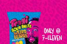 Bearded Gummy Candies - The New Sour Brite Weird Beards Candies Resemble NBA Player James Harden