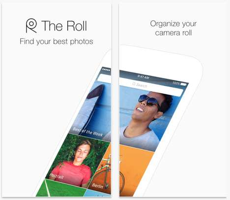 Automatic Photo-Organizing Apps - The Roll is an Automatic Picture Organizer For Your Smartphone
