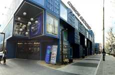 The Common Ground Mall is Made Up of Multiple Shipping Containers