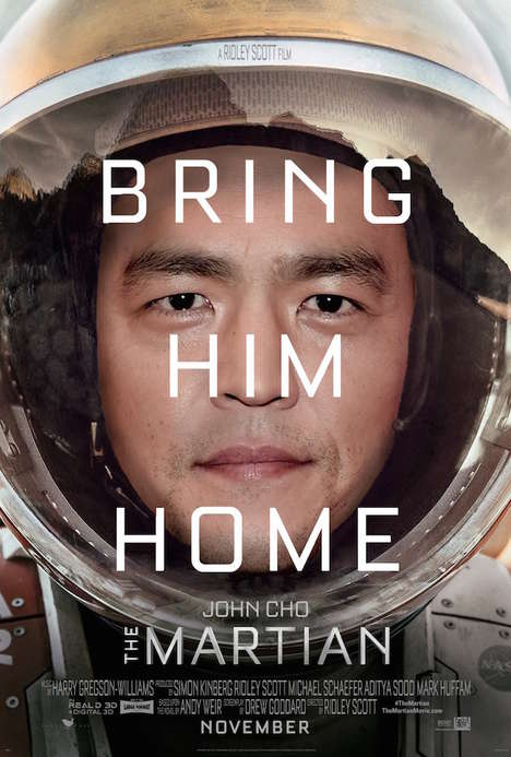 Anti-Racism Movie Posters - William Yu Photoshop's Film Posters to Combat Hollywood Racism