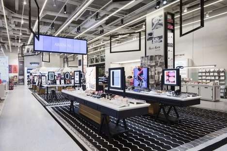 Shop-in-Shop Retail Hubs - The Aritaum Mega Shop Spotlights Self-Care Brands with Distinct Stations