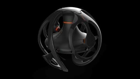 Foldable Drone Designs - The Sphere Drone Boasts a Functional Yet Stylish Aesthetic