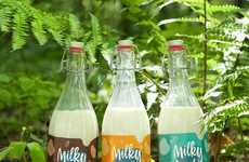 Alternative Nut Drinks - 'Milky Nuts' are Made from Sesame Seeds, Almonds or Cashews and Water