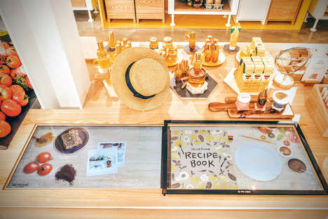 High-Tech Beauty Bars - The Skinfood Concept Shop Features Tech-Integrated Displays