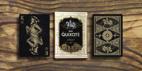 Chivalrous Playing Cards - These Themed Cards Celebrate the Renowned Story of Don Quixote