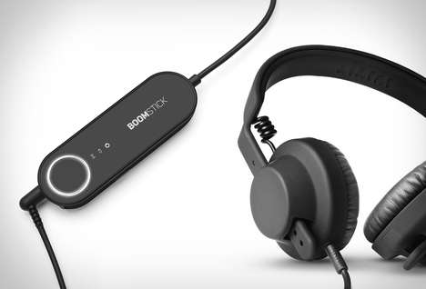 Audiophile DAC Devices - The Boomstick Jack Improves Listening by Enriching the Audio Quality