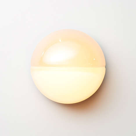 Lunar Cycle Sconces - The 'Phase' Wall Light by David Rockwell Takes Inspiration from the Moon