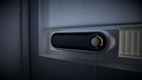 Sleek Window Air Conditioners - This Small Window Air Conditioner is Controlled by Bluetooth