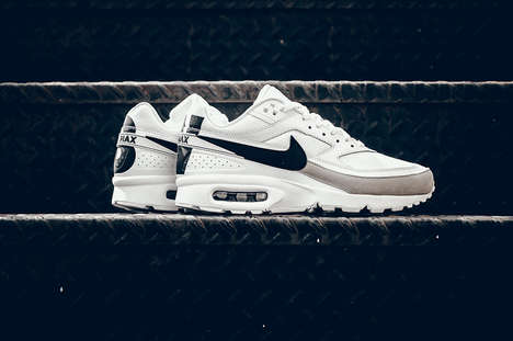 Monochrome Athletic Shoes - Nike Air Max Shoes are Getting a New Edition with the BW Iron Ore Color