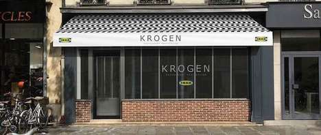 Discount Furniture Store Diners - The Krogen Restaurant Will Serve Budget-Friendly Meals