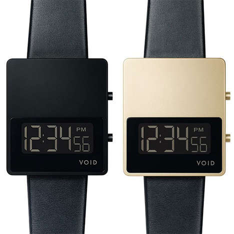 Simplistic Modern Watches - This Luxurious Simple Watch Has Clean Lines and a Masculine Look