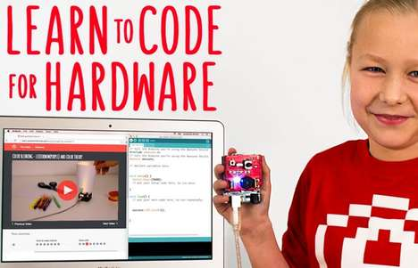 Introductory Coding Kits - The 'Awesome Shield' At-Home Code School Offer Hands-On Experience