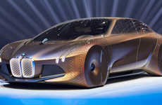 Autonomous Luxury Cars - The BMW 'i NEXT' Design is a Luxurious Two-Person Electric Car