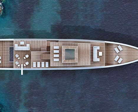 Fashionable Luxury Yachts