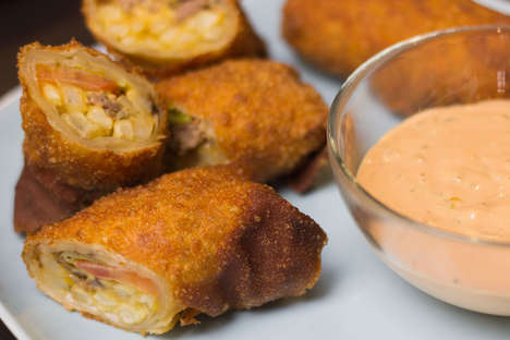 Cheeseburger Egg Rolls - This In-N-Out Egg Roll Recipe Contains Burger Ingredients for Asian Fusion