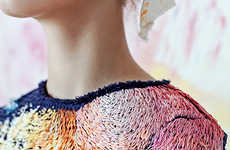 Paint-Inspired Embroidered Fashion
