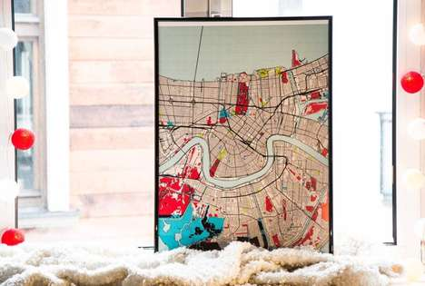 DIY Designer Maps - Grafomap Lets People Create Their Own Special Maps