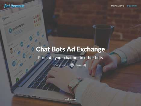 Chat Bot Ad Exchanges - Startup BotRevenue Will Let Chat Bot Owners Expand Their User Base