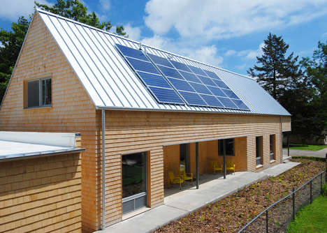 Efficient Energy Homes - Studio 804's New York Street Passive House is Ecological for the Future