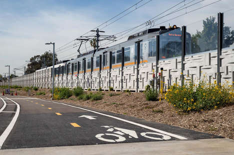 Seaside Traffic-Clearing Trains - The Expo Line Drops Passengers at the Beach to Reduce Traffic