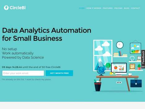 Business-Advising AI Assistants - CircleBi Offers Automated Data Analytics to Small Businesses