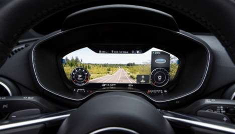 Virtual Vehicle Dashboards - Rightware is Designing Interactive Navigational Displays for Drivers