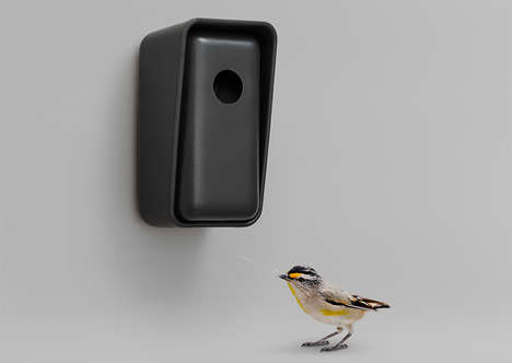 3D-Printed Birdhouses - OTHR Offers an Avian Aboad For the Garden Made Using 3D-Engineered Porcelain