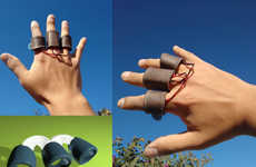 Gesture-Controlled Drone Accessories - The Handrone Accepts Flying Commands Using Finger Movements