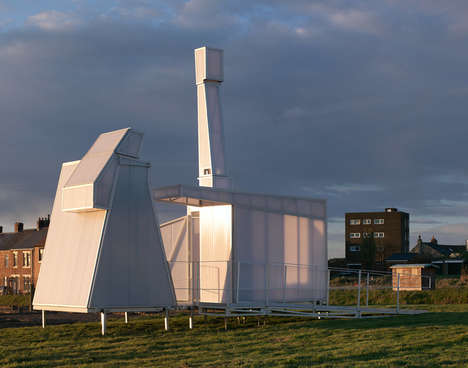 Mobile Writer Residences - Matthew Butcher and His Team Engineer Temporary Factory Homes in England