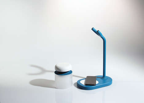 Phone-Deactivating Lamps - The 'Tranquillo' Modern Table Lamp Helps Users to Concentrate