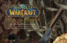 Online Game Cookbooks - 'World of Warcraft: The Official Cookbook' Features Delicious Food Recipes