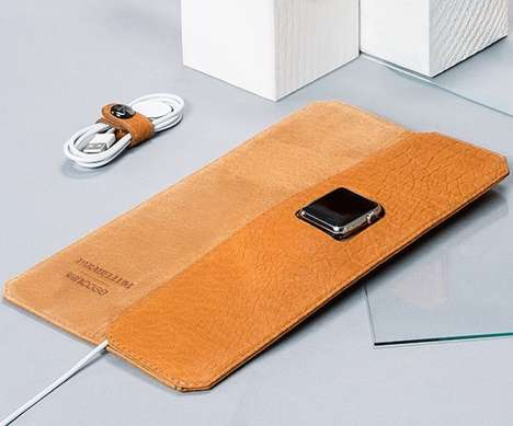 Sleek Smartwatch Folios - The Incase x Parabellum Apple Watch Travel Case is Handcrafted