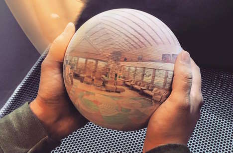 Sphere-Shaped Photography - The Scandy Sphere Makes 3D Photos More Interesting for Consumers