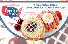 Americana-Themed Donut Flavors - The American Classics Doughnuts are Inspired by Classic Treats