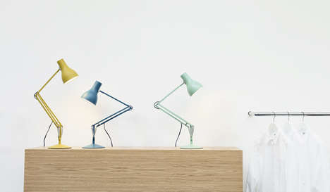 Pastel Task Lamps - Anglepoise x Margaret Howell Team Up to Create Fresh Lighting Looks