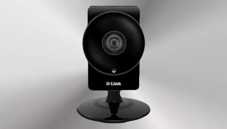 Comprehensive HD Security Cameras - The D-Link 'Wide Eye' Packs Night Vision Recording and More