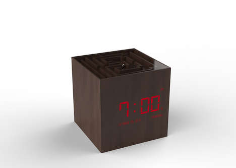 Maze Game Alarm Clocks - The 'NEMO' Puzzle Alarm Clock Requires Users to Play to Snooze