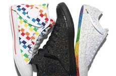 Colorful LGBT-Supporting Sneakers - The New Converse Pride Collection is Inspired by the LGBT Flag