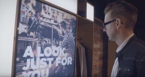 Personalized Shopping Stores - Razorfish and Adobe Created a Digital Concept Store of the Future